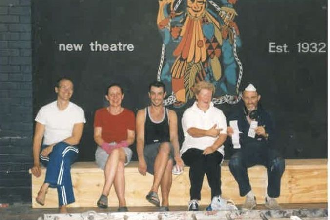 Foyer group with old mural.jpg